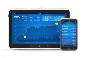 Trading mit iPad und iPhone